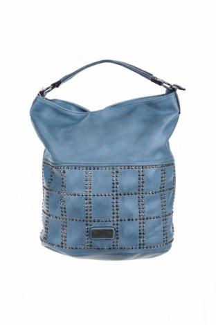 Дамска чанта Xti, Цвят Син, Еко кожа, Цена 46,92лв.