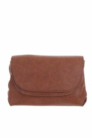 Дамска чанта Yshey, Цвят Кафяв, Еко кожа, Цена 20,58лв.