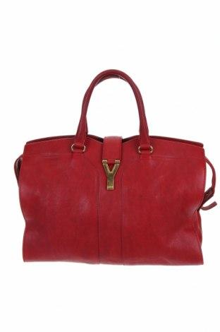 Γυναικεία τσάντα Yves Saint Laurent, Χρώμα Κόκκινο, Γνήσιο δέρμα, Τιμή 614,35€