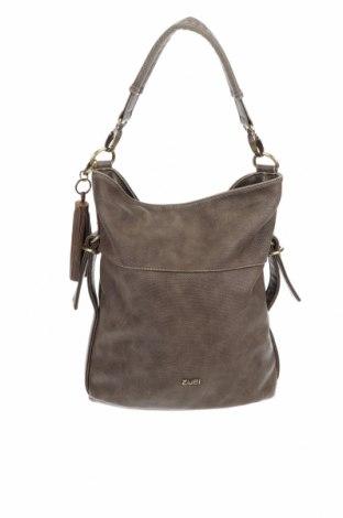Дамска чанта Zwei, Цвят Кафяв, Еко кожа, Цена 82,96лв.