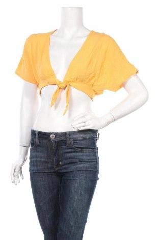 Дамска жилетка ASOS, Размер S, Цвят Оранжев, Вискоза, Цена 48,88лв.