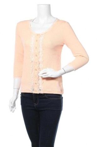 Дамска жилетка Biba, Размер S, Цвят Розов, 92% памук, 8% еластан, Цена 5,51лв.