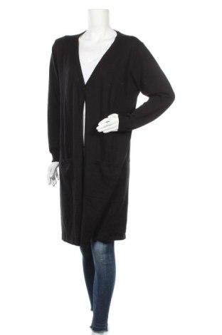 Дамска жилетка Boysen's, Размер XL, Цвят Черен, 50% памук, 50% акрил, Цена 33,12лв.