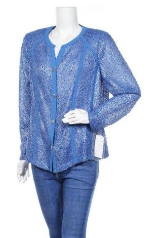 Γυναικεία ζακέτα Frankenwalder, Μέγεθος XL, Χρώμα Μπλέ, Πολυεστέρας, Τιμή 16,06€