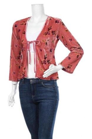 Дамска жилетка Hennes, Размер M, Цвят Розов, 94% полиестер, 6% еластан, Цена 15,12лв.