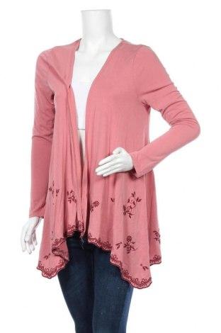 Дамска жилетка Mi Ami, Размер S, Цвят Розов, 80% модал, 20% полиестер, Цена 7,35лв.