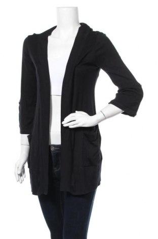 Дамска жилетка Splendid, Размер M, Цвят Черен, 50% памук, 50% модал, Цена 11,81лв.