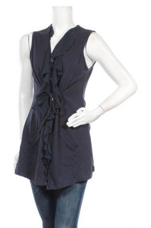 Дамска жилетка Top Secret, Размер L, Цвят Син, 92% памук, 8% еластан, Цена 25,52лв.