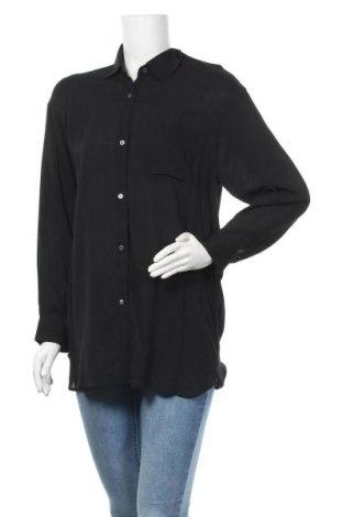 Γυναικείο πουκάμισο 7 For All Mankind, Μέγεθος S, Χρώμα Μαύρο, Βισκόζη, Τιμή 10,75€