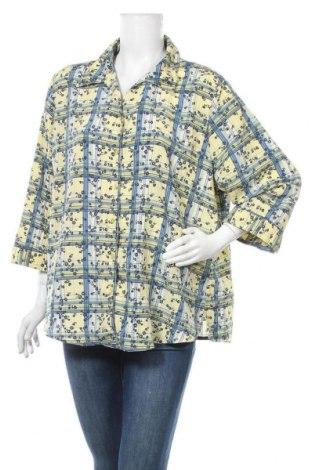 Γυναικείο πουκάμισο Alia, Μέγεθος XXL, Χρώμα Πολύχρωμο, Πολυεστέρας, Τιμή 5,85€