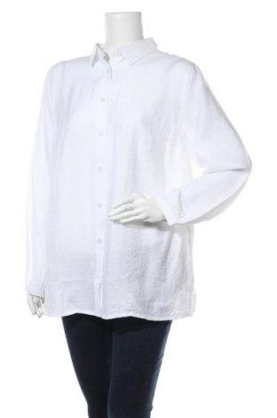 Γυναικείο πουκάμισο Aniston, Μέγεθος XXL, Χρώμα Λευκό, 70% βισκόζη, 30% πολυαμίδη, Τιμή 11,55€