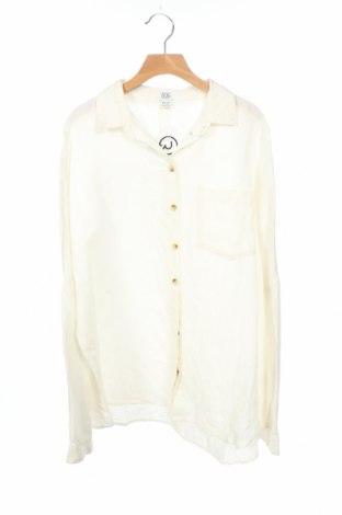 Дамска риза BDG, Размер XS, Цвят Екрю, 53% лен, 47% памук, Цена 40,88лв.