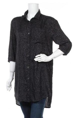 Дамска риза Bon'a Parte, Размер M, Цвят Сив, Вискоза, Цена 18,90лв.