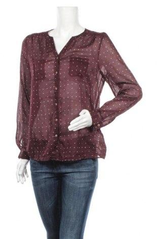 Дамска риза Caroll, Размер L, Цвят Червен, Памук, Цена 35,91лв.