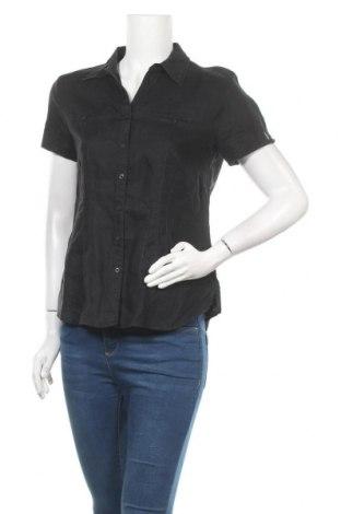 Дамска риза G.W., Размер M, Цвят Черен, Цена 6,30лв.