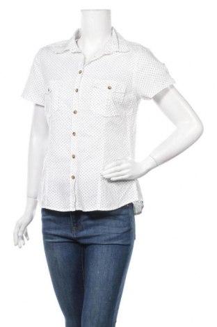 Дамска риза H&M L.O.G.G., Размер L, Цвят Бял, Памук, Цена 14,18лв.