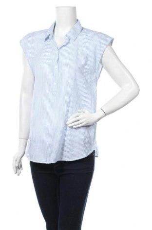 Дамска риза H&M L.O.G.G., Размер M, Цвят Син, Памук, Цена 19,69лв.