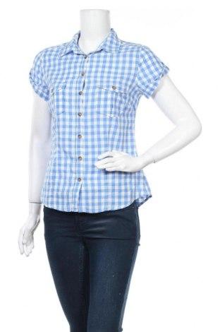 Дамска риза H&M L.O.G.G., Размер M, Цвят Син, Памук, Цена 13,44лв.