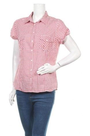 Дамска риза H&M L.O.G.G., Размер XL, Цвят Червен, Памук, Цена 15,12лв.