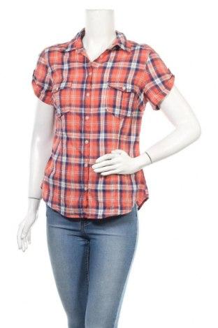 Дамска риза H&M L.O.G.G., Размер M, Цвят Червен, Памук, Цена 15,17лв.