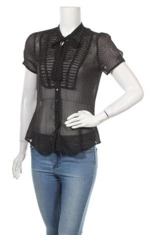 Дамска риза Hallhuber, Размер S, Цвят Черен, Цена 29,25лв.