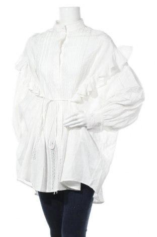 Дамска риза Iro, Размер M, Цвят Бял, 80% памук, 20% коприна, Цена 216,75лв.