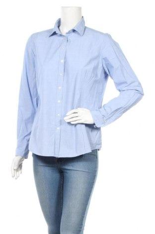 Дамска риза Lawrence Grey, Размер L, Цвят Син, Памук, Цена 27,84лв.