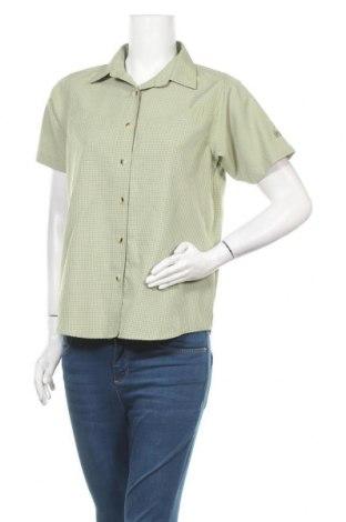 Γυναικείο πουκάμισο McKinley, Μέγεθος M, Χρώμα Πράσινο, 89% πολυεστέρας, 11% βισκόζη, Τιμή 7,40€