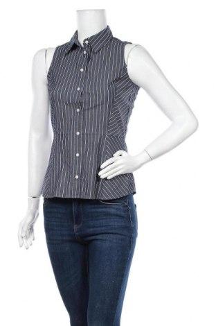 Дамска риза Mexx, Размер S, Цвят Син, 67% памук, 28% полиамид, 5% еластан, Цена 14,70лв.