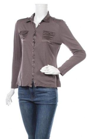 Дамска риза Mexx, Размер M, Цвят Сив, Вискоза, Цена 18,00лв.