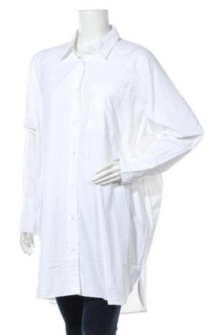 Γυναικείο πουκάμισο Soya Concept, Μέγεθος XL, Χρώμα Λευκό, 53% πολυεστέρας, 47% βαμβάκι, Τιμή 17,64€