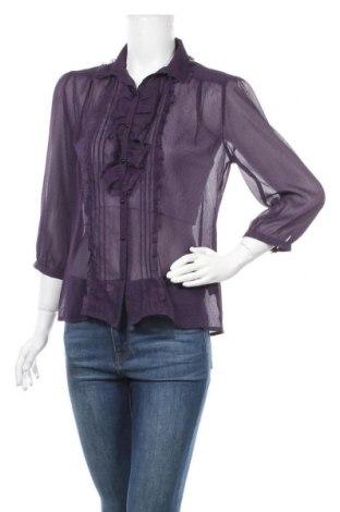 Дамска риза Tara, Размер M, Цвят Лилав, Полиестер, Цена 16,07лв.