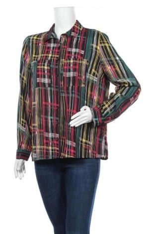 Γυναικείο πουκάμισο Tu, Μέγεθος XL, Χρώμα Πολύχρωμο, Πολυεστέρας, Τιμή 6,75€
