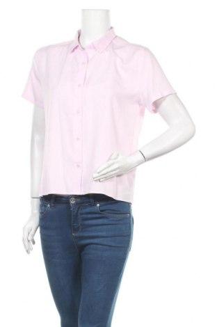 Дамска риза Uniqlo, Размер S, Цвят Розов, Цена 4,46лв.