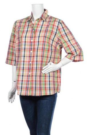 Дамска риза Walbusch, Размер XL, Цвят Многоцветен, Памук, Цена 16,07лв.