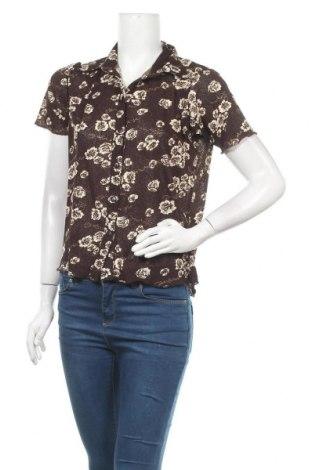 Дамска риза X-Mail, Размер XL, Цвят Кафяв, Полиестер, Цена 11,76лв.