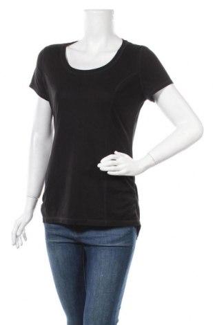 Γυναικείο t-shirt Athletic Works, Μέγεθος L, Χρώμα Μαύρο, 80% πολυεστέρας, 20% βαμβάκι, Τιμή 8,83€