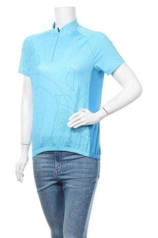 Дамска спортна блуза Crane, Размер S, Цвят Син, 90% полиестер, 10% еластан, Цена 7,88лв.