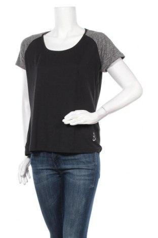Дамска спортна блуза Crivit, Размер L, Цвят Черен, 89% полиестер, 11% еластан, Цена 14,70лв.