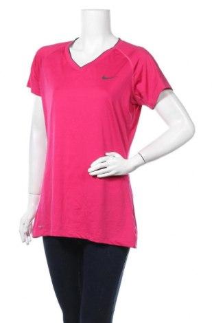 Dámská sportovní halenka Nike, Velikost XL, Barva Růžová, 84% polyester, 16% elastan, Cena  345,00Kč