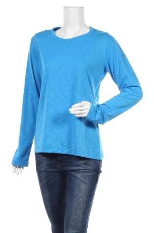 Дамска спортна блуза Schoffel, Размер L, Цвят Син, Цена 17,64лв.