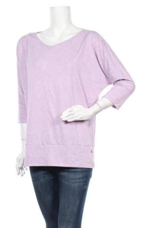 Γυναικεία αθλητική μπλούζα Tchibo, Μέγεθος M, Χρώμα Βιολετί, 67% πολυεστέρας, 33% βισκόζη, Τιμή 12,28€