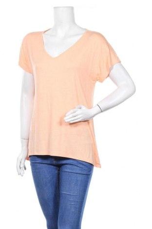 Дамска тениска, Размер M, Цвят Розов, 95% вискоза, 5% еластан, Цена 6,62лв.