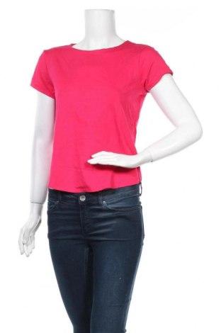 Дамска тениска, Размер L, Цвят Розов, 94% вискоза, 6% еластан, Цена 15,59лв.