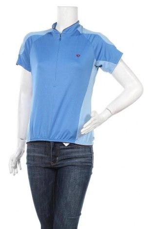 Дамска тениска, Размер L, Цвят Син, Полиестер, Цена 12,29лв.