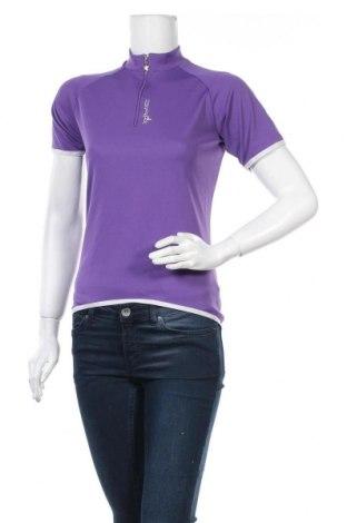 Дамска тениска, Размер M, Цвят Лилав, Цена 14,96лв.