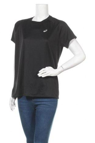 Дамска тениска ASICS, Размер XL, Цвят Черен, Цена 13,97лв.