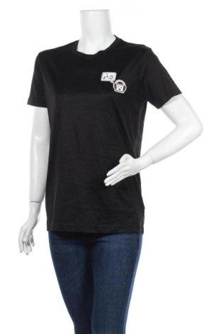 Дамска тениска Acne Studios, Размер M, Цвят Черен, Памук, Цена 75,81лв.