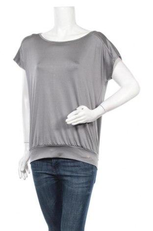 Дамска тениска Active By Tchibo, Размер S, Цвят Сив, 90% полиестер, 10% еластан, Цена 7,50лв.