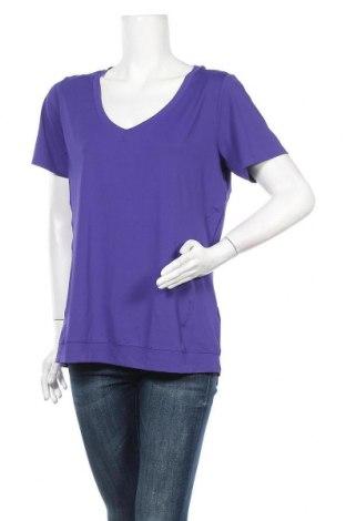 Дамска тениска Active By Tchibo, Размер L, Цвят Лилав, 86% полиестер, 14% еластан, Цена 14,28лв.